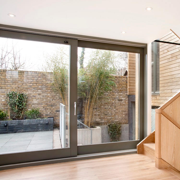 Contemporary Timber Sliding Door - New Build