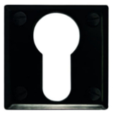Foundry_Escutcheon_Black