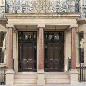 Sherlock Holmes style door