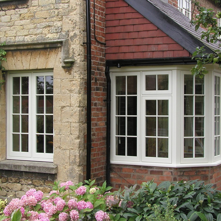 Historic Timber Casement Windows with Glazing Bars