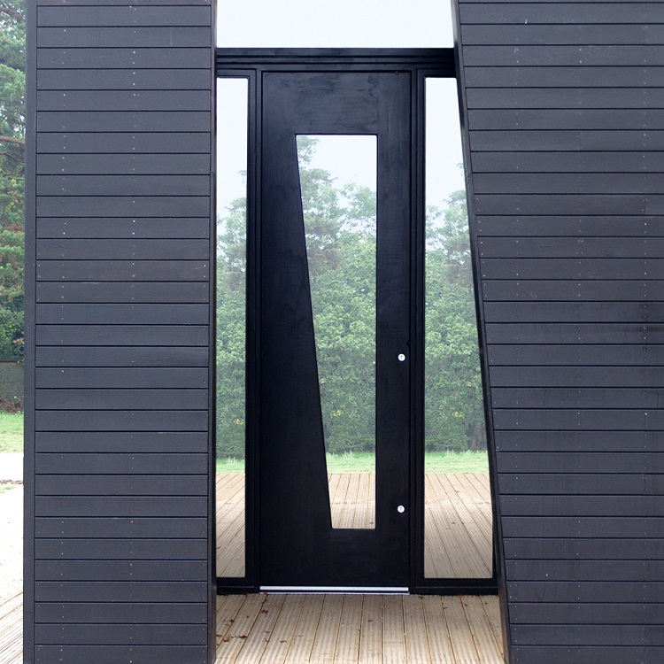 Large Timber Entrance Door - Myddleton House