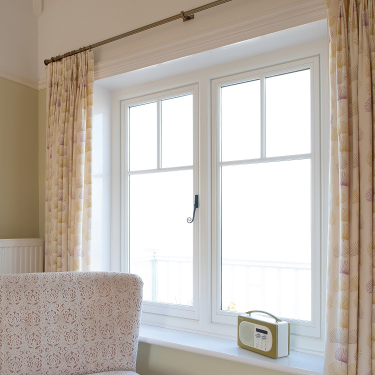 Replacement Timber Windows in Seaside Villa
