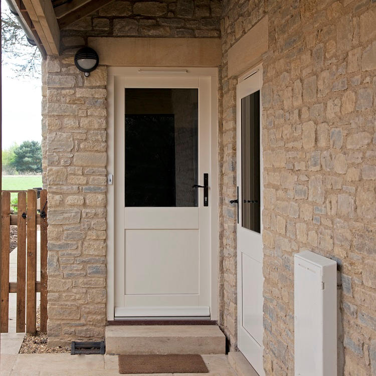 Timber Doors for Utility Room
