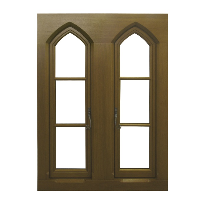 Traditional Flush Timber Casement Window Special Design for Replication