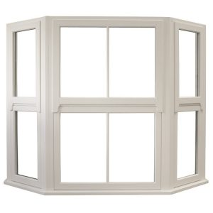 Traditional Regency Timber Flush Casement Window Angled Bay