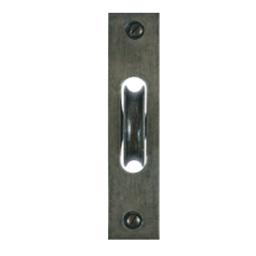 sash pulley antique pewter