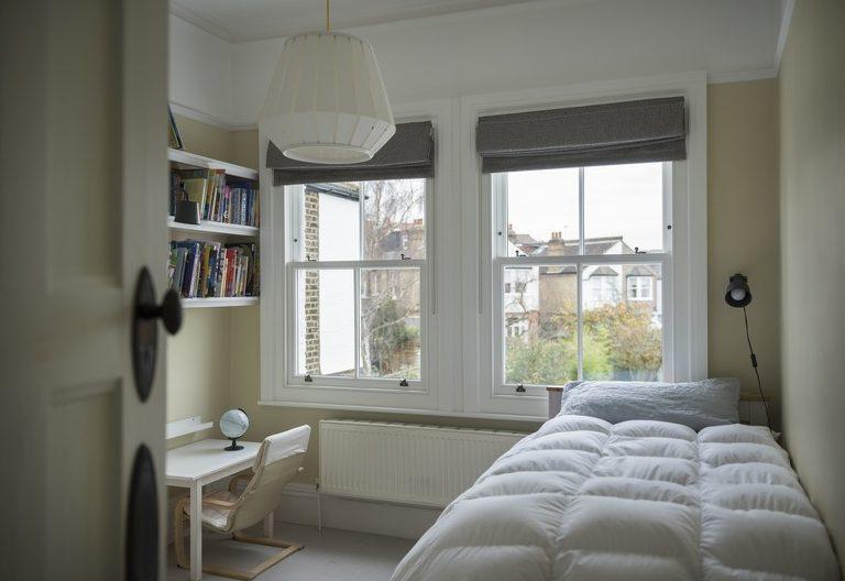 Customised bespoke timber sash windows