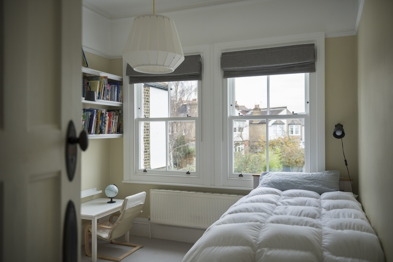 Customised bespoke timber sash windows