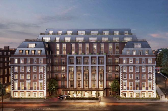 20 Grosvenor Square Mayfair London George Barnsdale