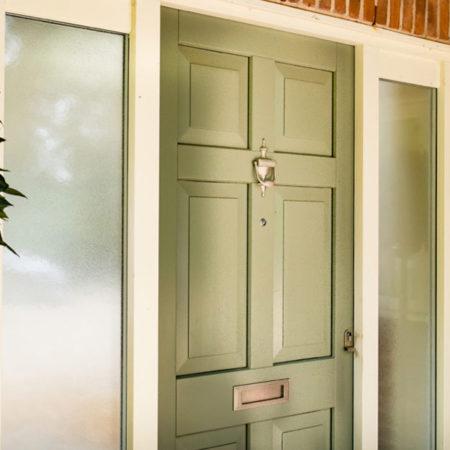 bexton lane knutsford exterior timber entrance door close up