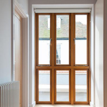 contemporary design timber casement windows accoya