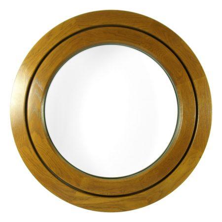 external circular pivot window