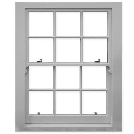 historic box sash window putty finish