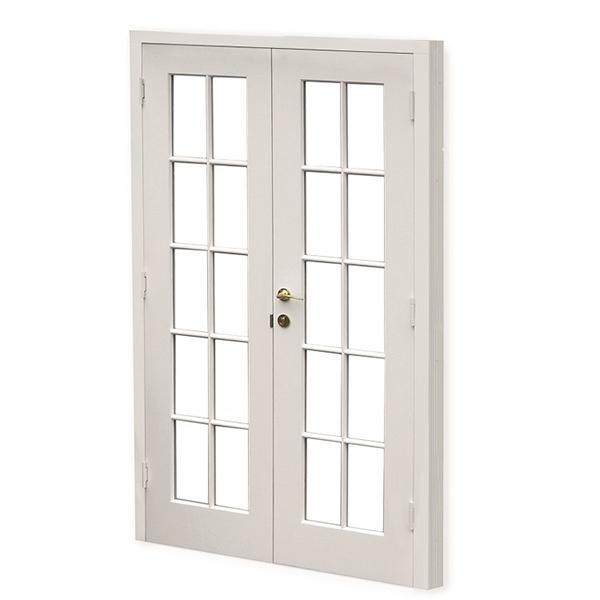 Historic French door