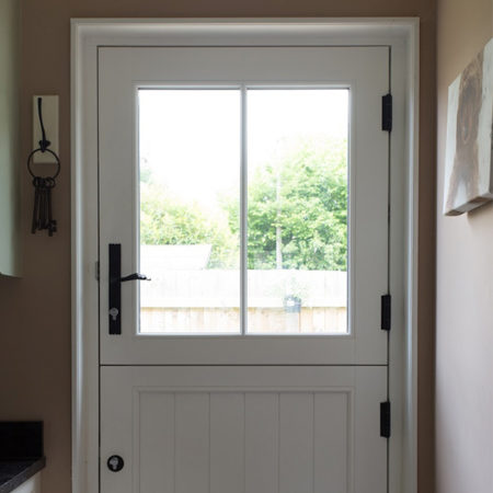 timber stable door wrought iron hardware
