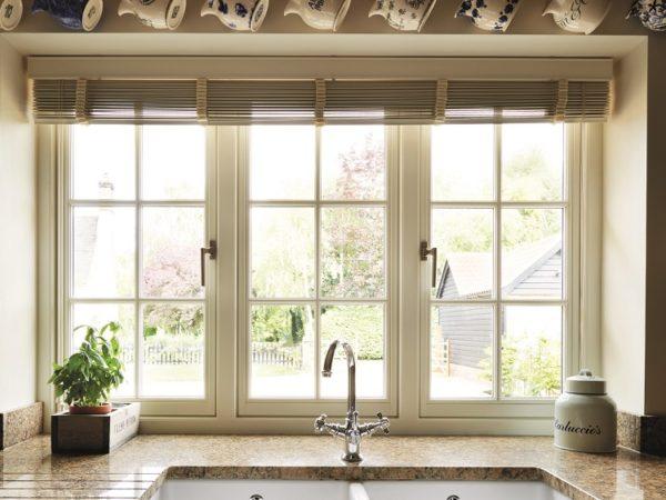 Kitchen Timber Casement Windows