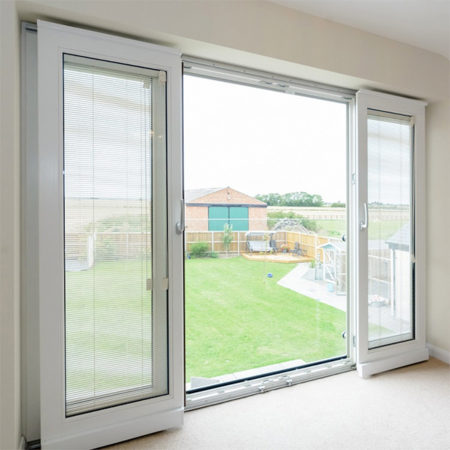 timber tilt and sliding door open position