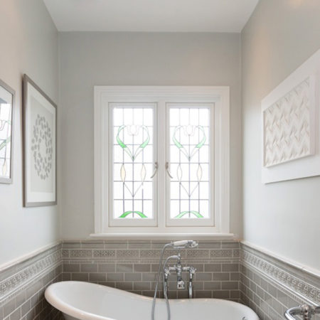 south london home refurbishment bathroom timber casement windows