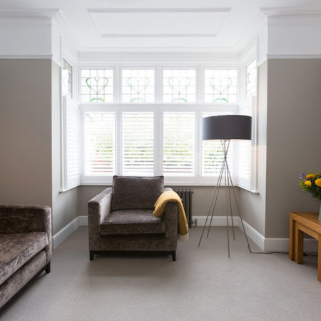south london home refurbishment lounge timber casement windows