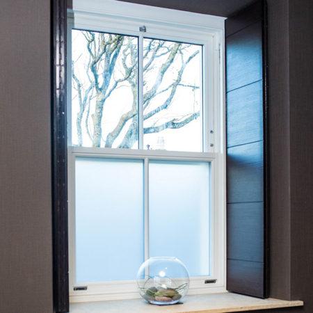 sliding sash window obscure glazing
