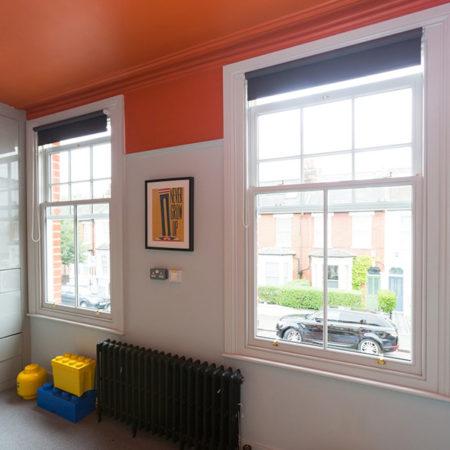 sliding sash window play room