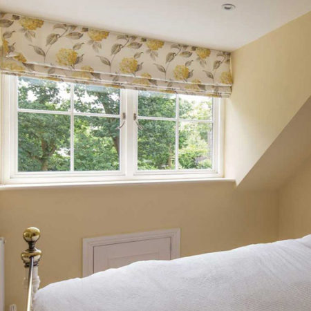 traditional timber casement windows bedroom