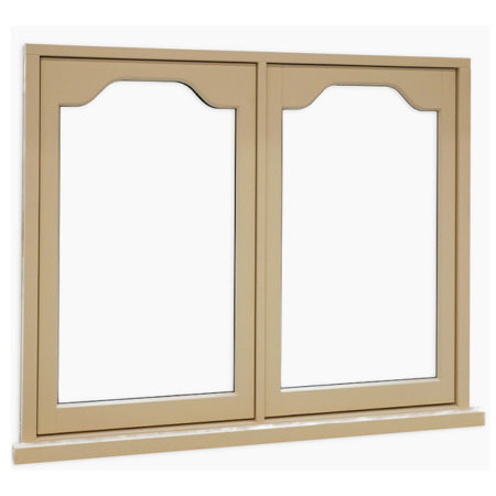 traditional flase mullion timber casement windows