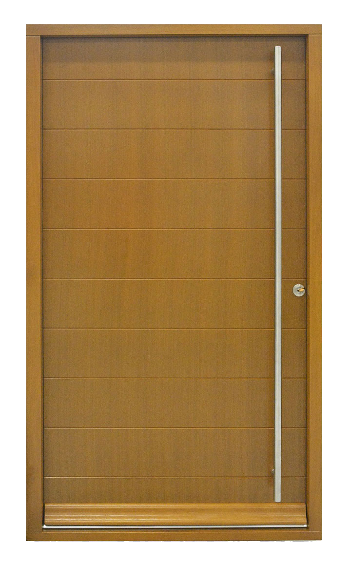 timber contemporary door
