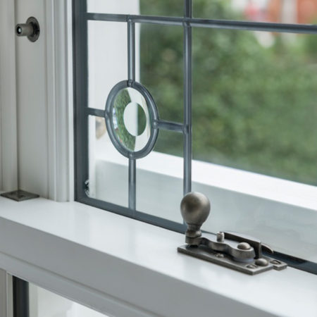 sliding sash window fastening