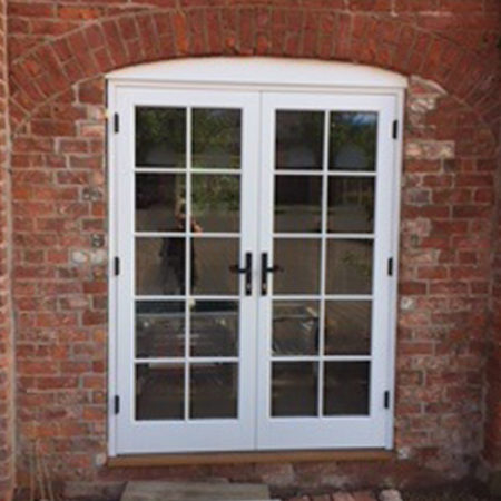 timber french doors stud farm