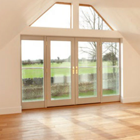 timber tilt and sliding door turley corner