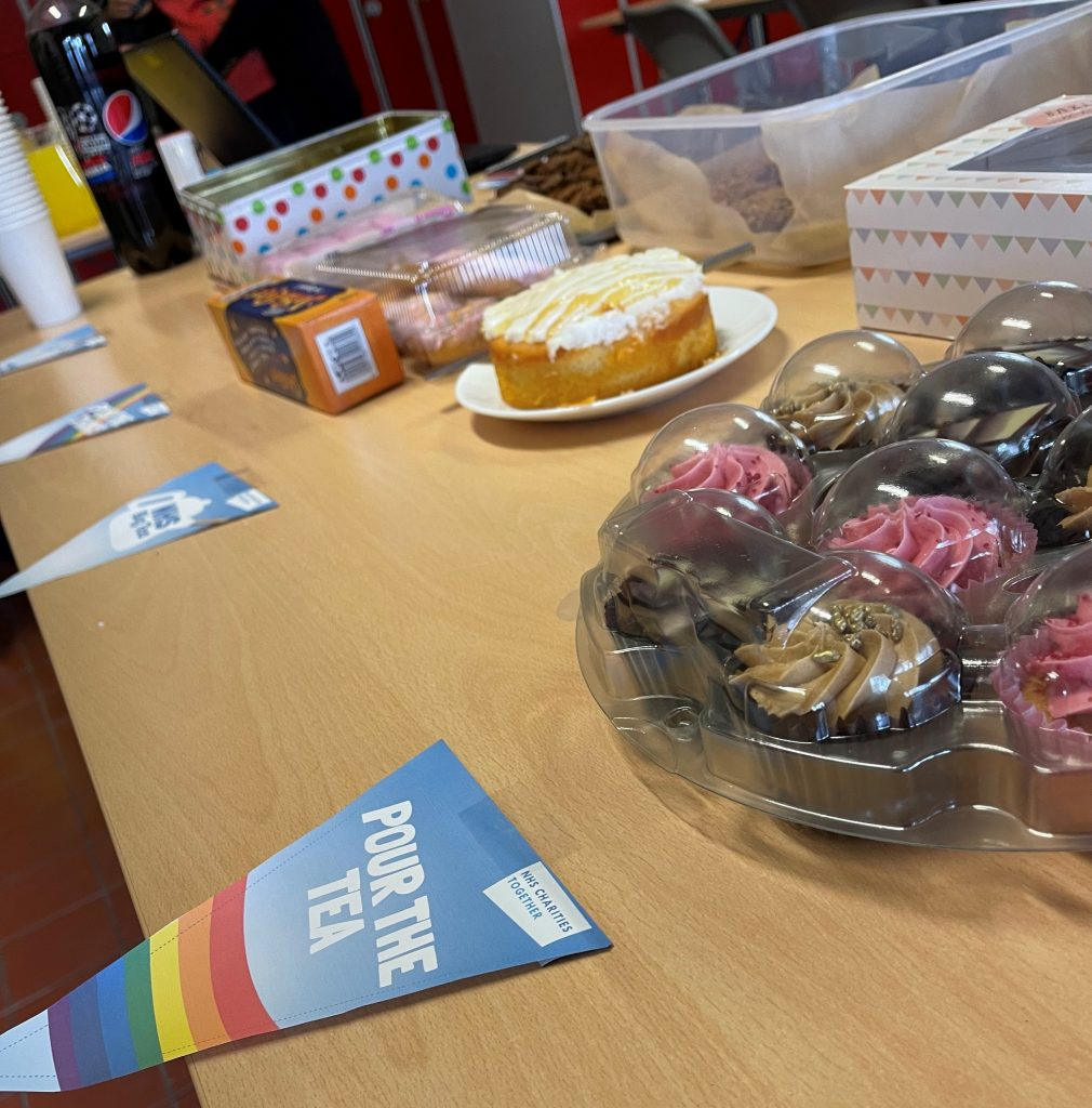 The sweet treats created by the team at George Barnsdale to raise money for the NHS